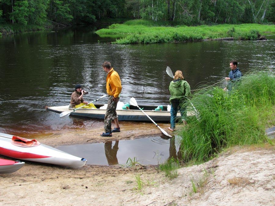 Рыбалка на реки пра